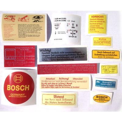 Stickerset 230SL, 250SL, W113