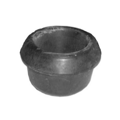 Rubber buffer for front axle carrier on the side, 190SL