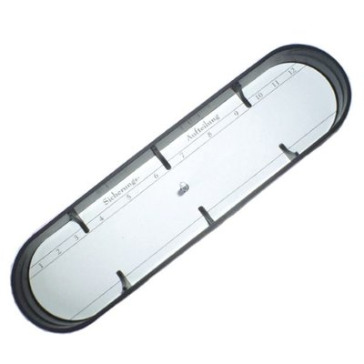Fuse box cover oval