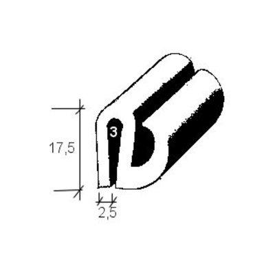 Lunette arrière 170S de phoques