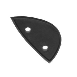 Rubber backing mirror right