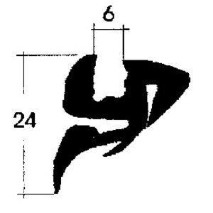 Lunette arrière joint Convertible