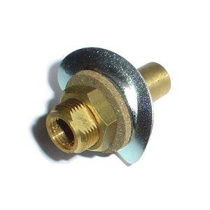 Hose adapter temperature sensor