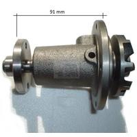 Geba Water pump long, 4-hole, big wheel