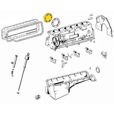 Cilinder dekken M180
