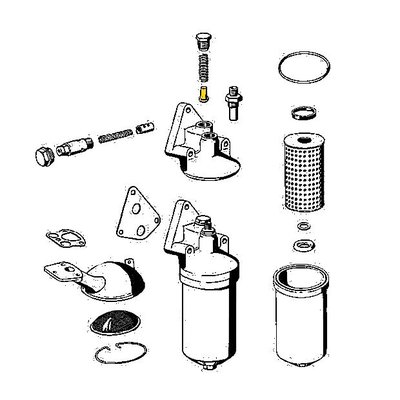 Ventilkegel für Öldruckventil