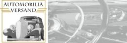 Automobilia-Versand, Ersatzteile für Mercedes PKW, die älter als 40 Jahre sind.
