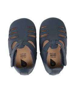 babyslofjes Navy Boys sandal
