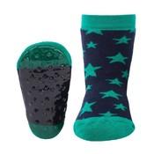 Ewers Anti-slip Sokken Stoppi sterren marine groen