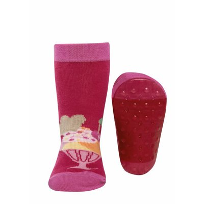 Ewers Anti-slip Sokken Stoppi fuchsia ijsje