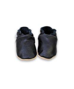 babyslofjes effen zwart