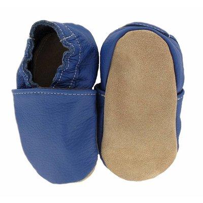 Hobea babyslofjes blauw