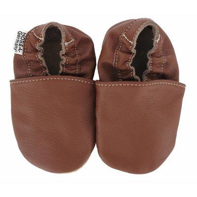 Hobea babyslofjes bruin