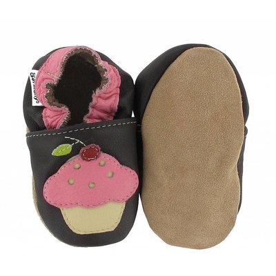 Hobea babyslofjes cupcake