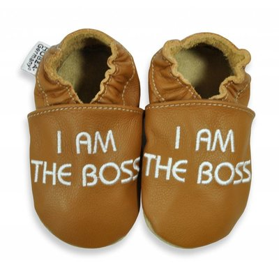 Hobea babyslofjes I am the Boss