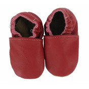 Hobea babyslofjes rood