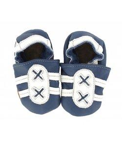 babyslofjes sport blauw/wit