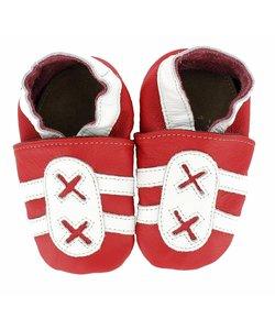 babyslofjes sport rood wit