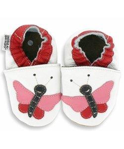 babyslofjes vlinder