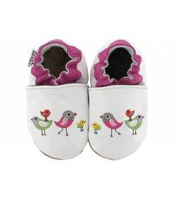 babyslofjes vogels