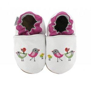 Hobea babyslofjes vogels