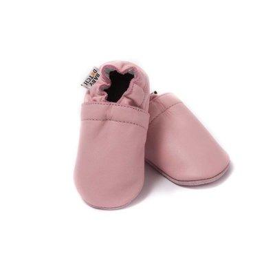 Baby Dutch babyslofjes effen licht roze