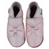 Oxxy babyslofjes roze met strik