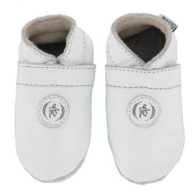 Oxxy babyslofjes rondje wit