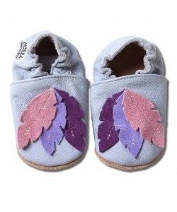 Babyslofjes veren grijs