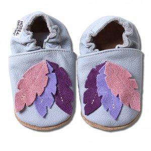 Hobea Babyslofjes veren grijs