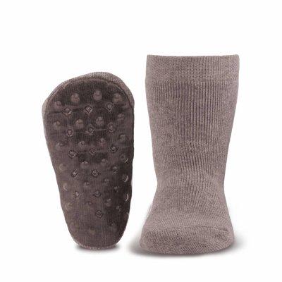 Ewers anti-slip sokken Stoppi uni grijs melee
