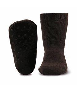 anti-slip sokken Stoppi uni bruin