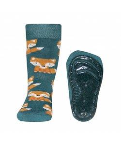 anti-slip sokken Stoppi Vos groen
