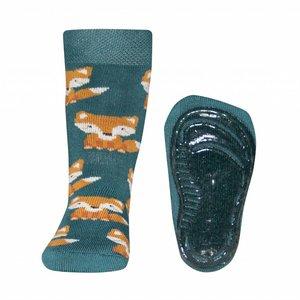 Ewers anti-slip sokken Stoppi Vos groen