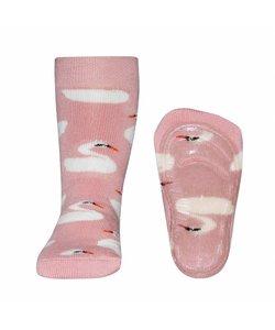 anti-slip sokken Stoppi Zwaan roze
