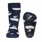 Ewers anti-slip sokken Stoppi Zwaan  blauw