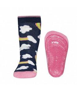 anti-slip sokken Stoppi Wolken blauw