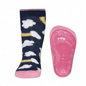Ewers anti-slip sokken Stoppi Wolken blauw