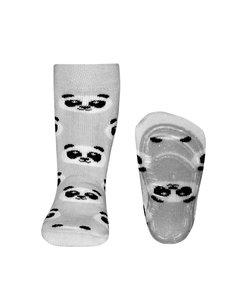 anti-slip sokken Stoppi Panda grijs
