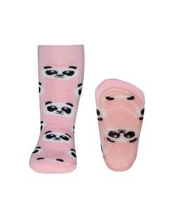 anti-slip sokken Stoppi Panda roze