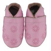 Oxxy babyslofjes gebloemd roze