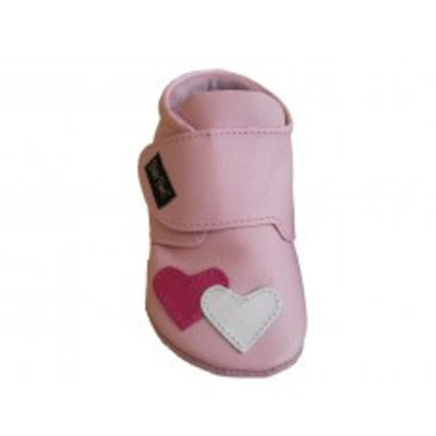 Baby Paws babyslofjes Heather roze