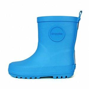 Druppies regenlaars helderblauw