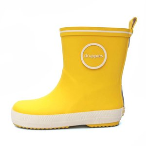 Druppies regenlaars geel