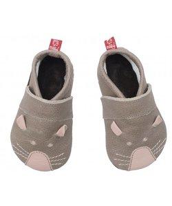babyslofje muis grijs