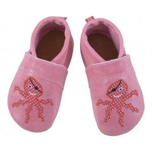 Anna und Paul babyslofje octopus roze