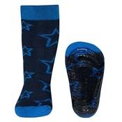 Ewers anti-slip sokken Stoppi Sterren blauw