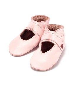babyslofjes open roze
