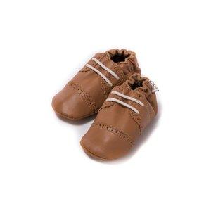 Baby Dutch babyslofjes broque cognac