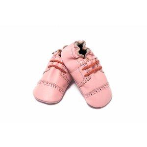 Baby Dutch babyslofjes broque roze